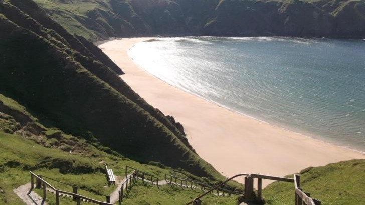 image of silver strand, Malin Beg, Co. Donegal, Ireland