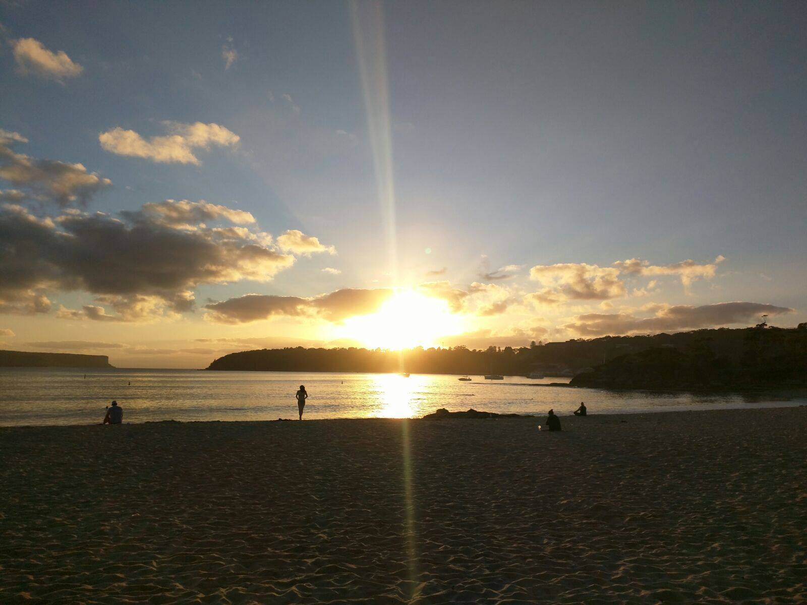 Sunrise over Balmoral Beach, Sydney Australia